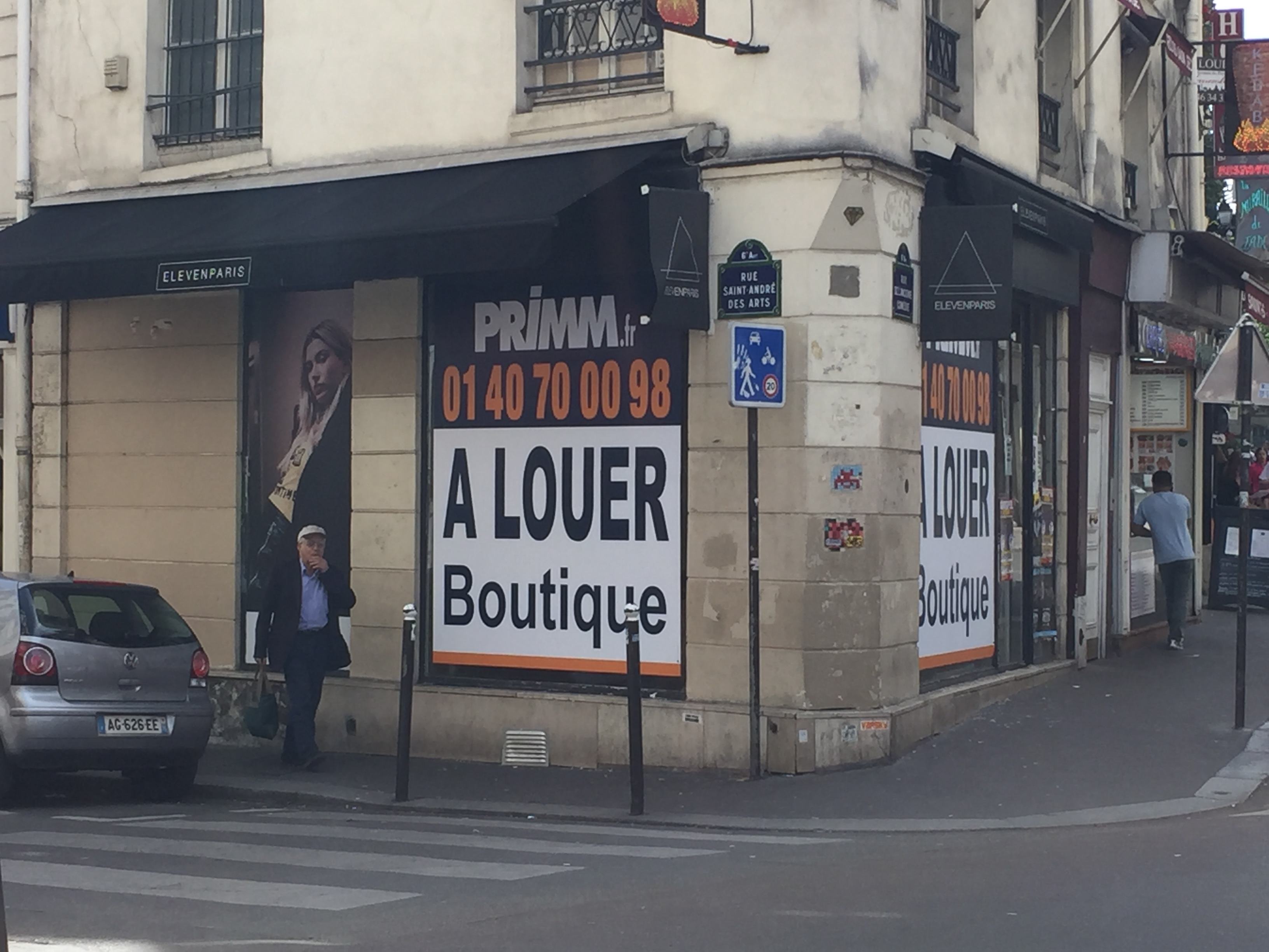 OFFRE DU MOIS : BELLE BOUTIQUE A LOUER, Emplacement exceptionnel Paris 6ème,